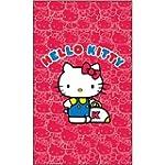 Brunswick Hello Kitty Towel, Pink