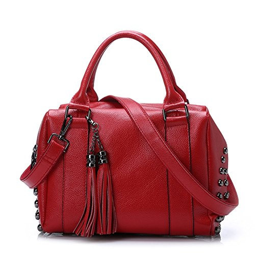 HB900250C1 Genuine Leather European And American Style Women's Handbag,Pillow Type Pillow Pack (Steam Carafe compare prices)