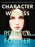 CHARACTER WITNESS (legal thriller, mystery) (English Edition)