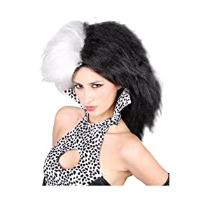 Ladies Cruel Lady Wig Outfit Accessory for Fancy Dress Womens