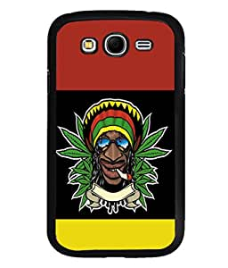 printtech Jamaica Weed Cool Back Case Cover for Samsung Galaxy Grand Neo Plus::Samsung Galaxy Grand Neo Plus i9060i