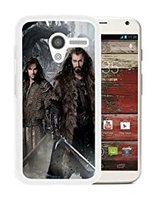 buy The Hobbit 2 The Desolation Of Smaug 2013 White Phone Case For Motorola Moto X,Durable Cover