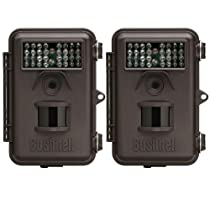Bushnell 8MP Trophy Cam Trail Camera 2 Pack - 119436C