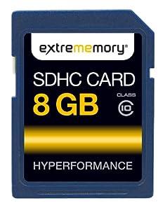 ExtreMemory EXMESDHC08GC10 HyPerformance Carte mémoire SDHC 8 Go