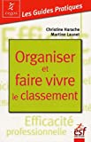 Organiser et faire vivre le classement