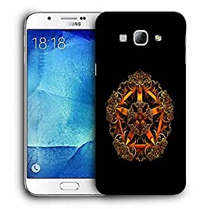 Snoogg Fractal Jewel Printed Protective Phone Back Case Cover For Samsung Galaxy Note 5
