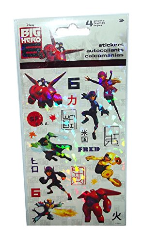 Disney's Big Hero 6 Sticker Sheets-4 sheets