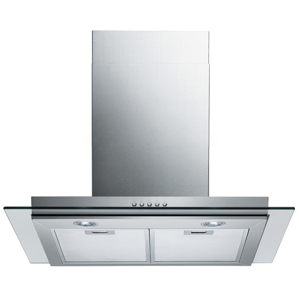 "SPAGNA VETRO SV198E-30 30"" Wall-Mounted Stainless Steel Glass Range Hood"