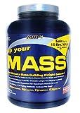 MHP, Up Your Mass Weight Gainer, Fudge Brownie, 5 Pound
