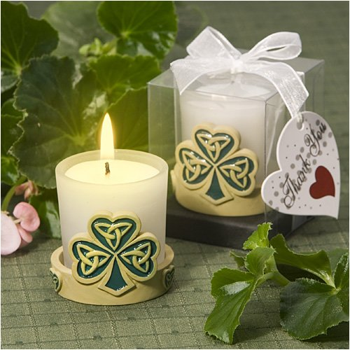 Trinity love knot candle holder wedding favors (Set of 15) - Wedding Favors