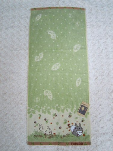 My Neighbor Totoro 'Ghibli' ★ and ★ face towel [path] applique embroidery