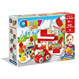 Clemmy Play Set Fire Station, Multi Color