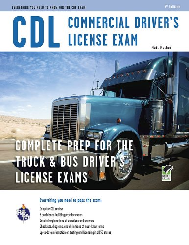 CDL - Commercial Driver's License Exam (CDL Test Preparation) (Truck Driver Training compare prices)