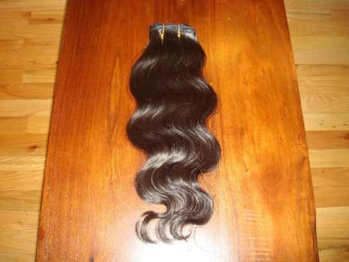 Unprocessed 100% Virgin Brazilian Human Hair Guaranteed / 100 grams / 1 pack Hair wavy or straight /with cuticles 16