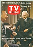 1961 TV Guide Oct 7 Walter Cronkite and Dwight Eisenhower - Washington-Baltimore Edition NO MAILING LABEL Very Good to Excellent (4 out of 10) Used Cond. by Mickeys Pubs