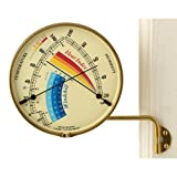 Weems & Plath Veranda Heat Index & Windchill Gauge