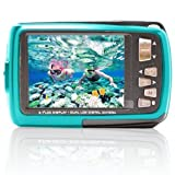 SVP Aqua 5500 ( Blue ) 18 MP Dual Screen Waterproof Digital Camera