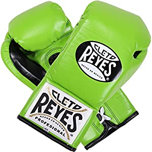Cleto Reyes Official Boxing Gloves - Special Edition Citrus Green