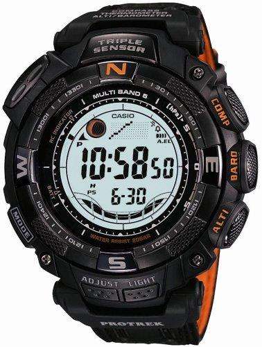 CASIO (カシオ) 腕時計 PROTREK プロトレック TRIPLE SENSOR ソーラー 電波時計 MULTIBAND5 PRW-1500GBJ-1JR