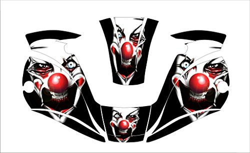 MILLER-digital-ELITE-257213-WELDING-HELMET-WRAP-DECAL-STICKER-jig-welder-Clown