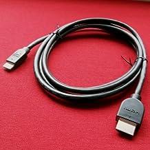 T-Mobile LG G-Slate Tablet Compatible Mini HDMI Cable Cord - 5 Feet Black - Bargains Depot