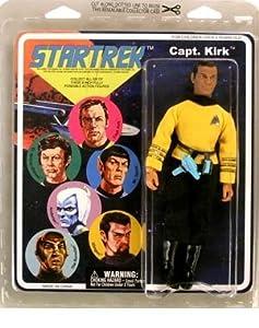 Star Trek: The Original Series: Retro Cloth Kirk Figure