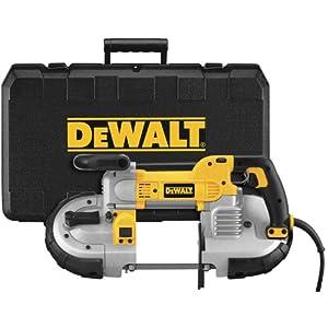 DEWALT DWM120K 10 Amp 5-Inch Deep Cut Portable Band Saw Kit by DEWALT