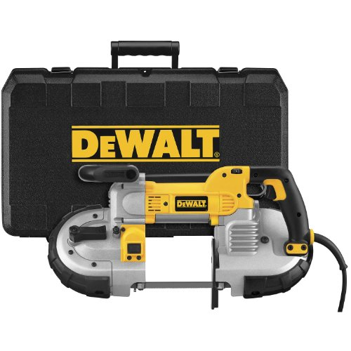 DEWALT DWM120K 10 Amp 5-Inch Deep Cut Portable Band Saw Kit