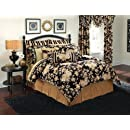 Croscill Home Pomegranate King Comforter Set Ebony