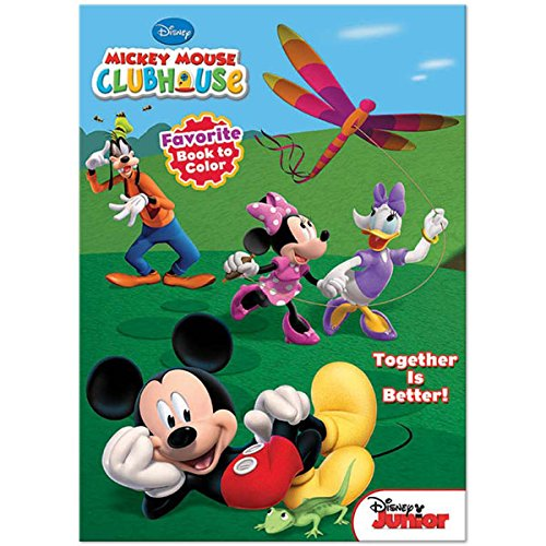 Disney Mickey Mouse Clubhouse Favorite Book To Color ~ Together Is Better! - 1