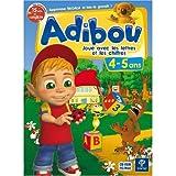 echange, troc Adibou joue avec les lettres et les chiffres 4-5 ans