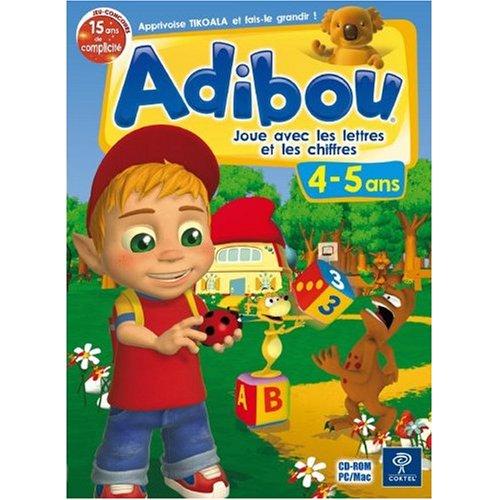 Adibou: Joue avec les lettres et les chiffres 4-5 ans  (vf - French software)