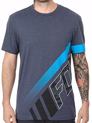 T-Shirt Fox Kaos Premium Pewter (S , Grigio)