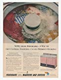 1956 Frigidaire Pink Imperial Washer Dryer Print Ad (20244)