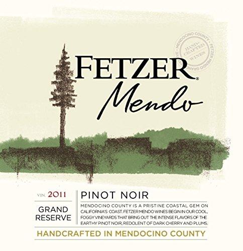 2011 Fetzer Mendocino County Grand Reserve Pinot Noir 750 Ml
