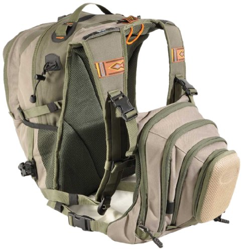 Airflo Fishing Luggage Rucksack And Chest Pack - Olive Khaki