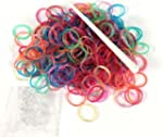 Ateam 600pcs Glitter Style Loom Bandz...