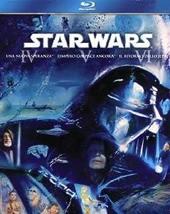 Star Wars Trilogy - Episodi 4-5-6 (3 Blu-Ray) [Italia] [Blu-ray]