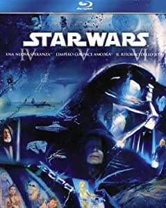 Star Wars Trilogy - Episodi 4-5-6 (3 Blu-Ray) [Italia] [Blu-ray]