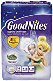Goodnites Underwear - Girl - Small/Medium - 14 ct