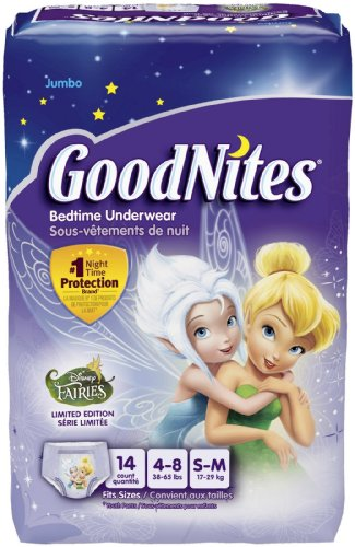 Goodnites Underwear - Girl - Small/Medium - 14 ct - 1