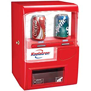 Koolatron VF02 Vending Fridge 10 (12-Ounce) Cans, Red