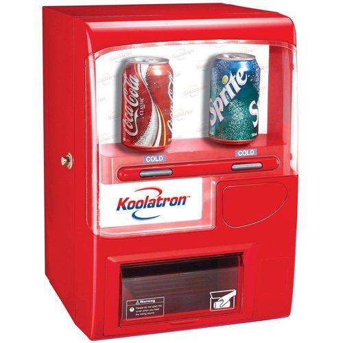 Koolatron VF02 Vending Fridge 10 (12-Ounce) Cans, Red