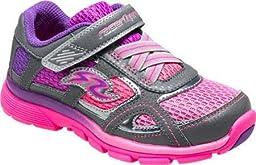 Stride Rite Racer Supersonic Light-up Sneaker (Little Kid) 13 Little Kid XW, Pink/Grey