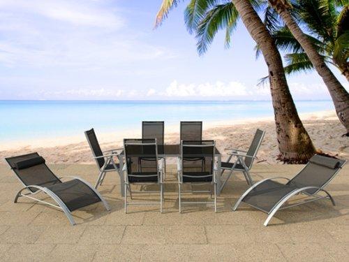 Eleganter Aluminium Gartentisch – Tisch – Gartenmöbel – CATANIA kaufen