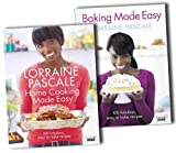Lorraine Pascale Lorraine Pascales Baking and Home Cooking Made Easy CookBook Collection Set Pack RRP: £38.99 (Home Cooking Made Easy, Baking Made Easy)