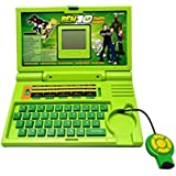 Toy Box ENGLISH LEARNER EDUCATIONAL LAPTOP FOR KIDS(GREEN)