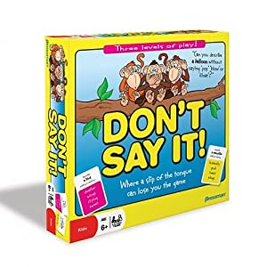 Don't Say It board game!