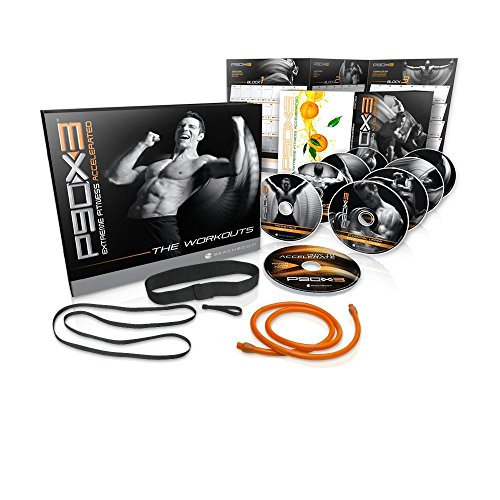 Tony Horton's P90X3 10 Disc Workout Exercise - Base Kit