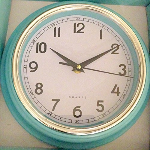 retro-colours-quartz-wall-clock-red-blue-and-grey-blue